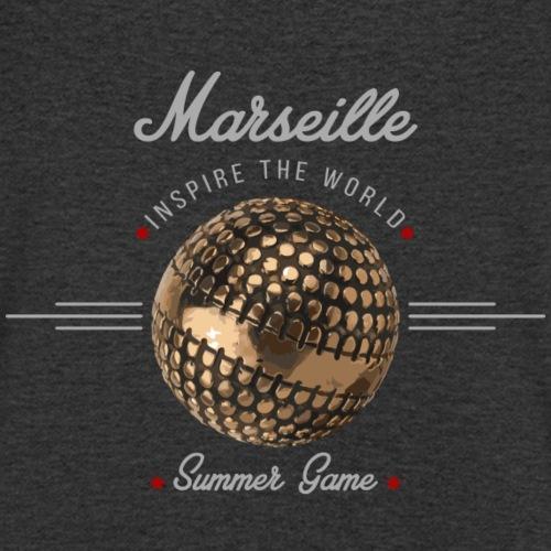 Marseille inspire the world - T-shirt bio col V Stanley & Stella Homme