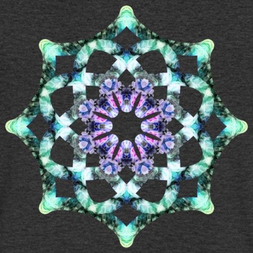 Yoga Mandala Symbol grün - Männer Bio-T-Shirt mit V-Ausschnitt von Stanley & Stella