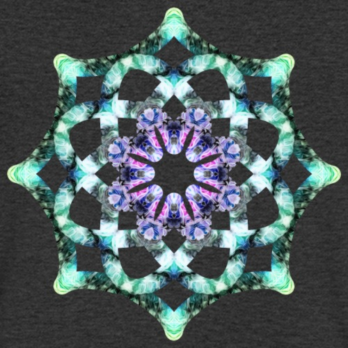 Yoga Mandala Symbol grün