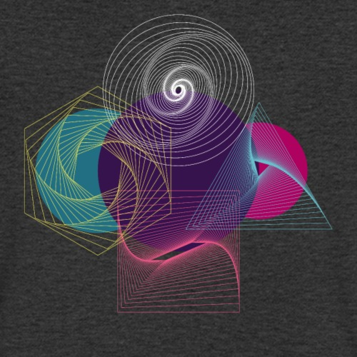 Futuristische Geometrie - Männer Bio-T-Shirt mit V-Ausschnitt von Stanley & Stella
