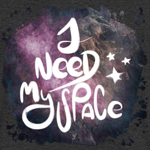Introvert 1 i need my space - Männer Bio-T-Shirt mit V-Ausschnitt von Stanley & Stella
