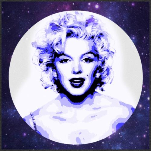 Marilyn in the sky - T-shirt ecologica da uomo con scollo a V di Stanley & Stella