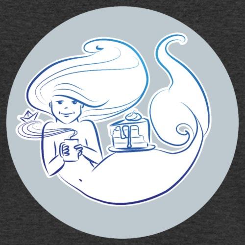 süße Pause - Background - Männer Bio-T-Shirt mit V-Ausschnitt von Stanley & Stella