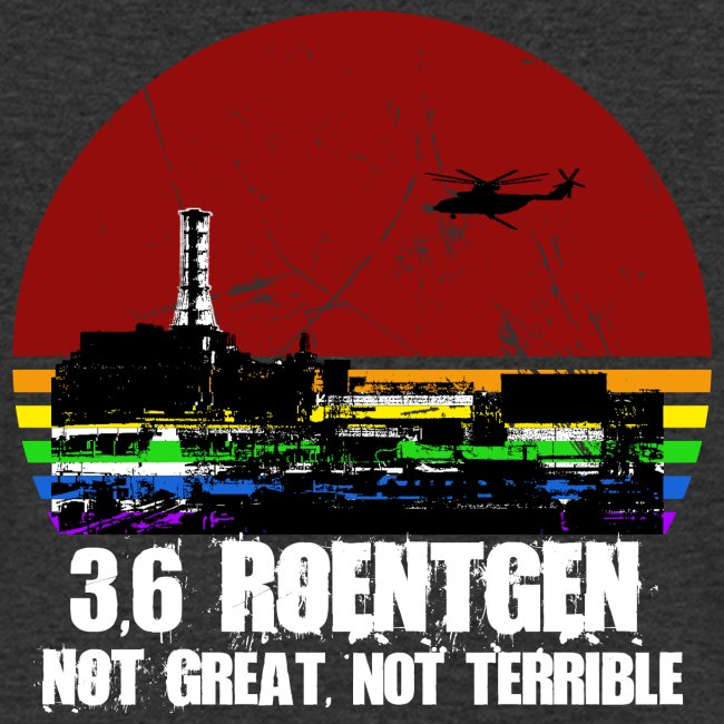 3.6 Roentgen - Not great, not terrible