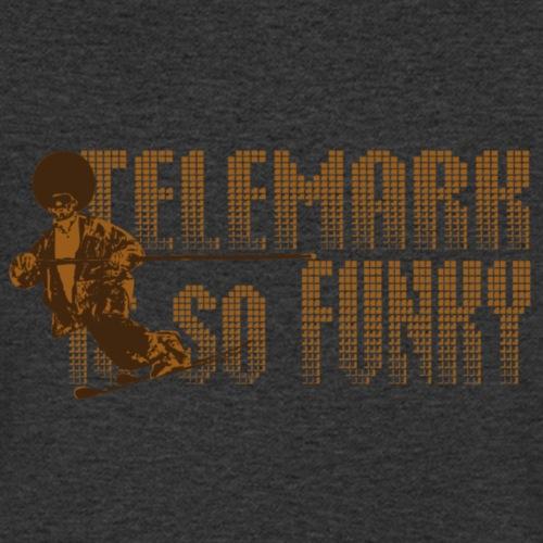 Telemark is so Funky - T-shirt bio col V Stanley & Stella Homme