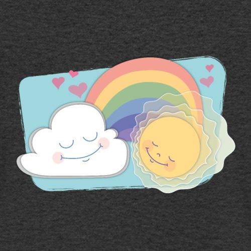 Regenbogen - Männer Bio-T-Shirt mit V-Ausschnitt von Stanley & Stella