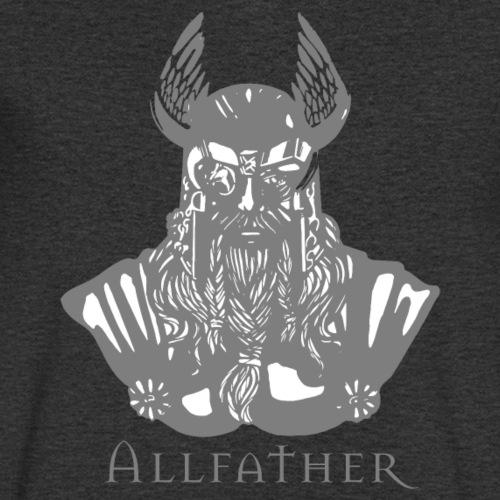 Odin - Viking - Design Grau - Männer Bio-T-Shirt mit V-Ausschnitt von Stanley & Stella