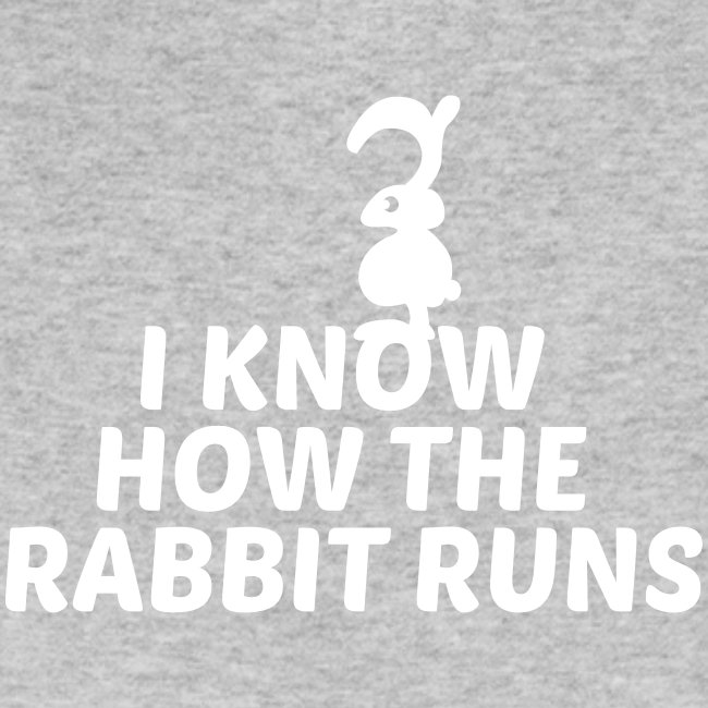 i know how the rabbit runs denglisch hase kaninche