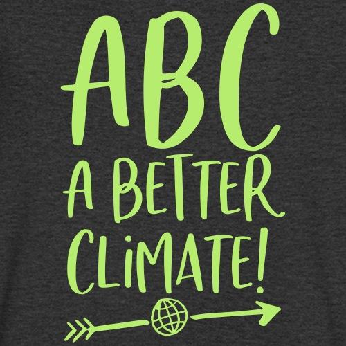 ABC a better climate - my days for future - Männer Bio-T-Shirt mit V-Ausschnitt von Stanley & Stella