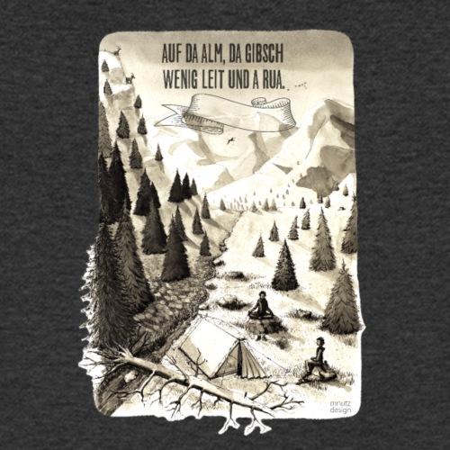 Berg Meditation - Resonanz - Männer Bio-T-Shirt mit V-Ausschnitt von Stanley & Stella