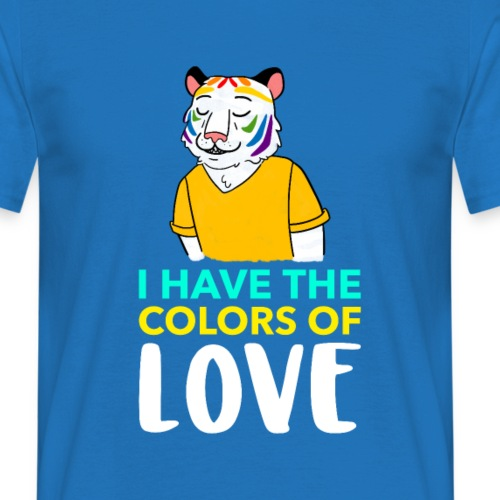 Tigre Arcoíris | Orgullo Pride LGTBI - Camiseta hombre