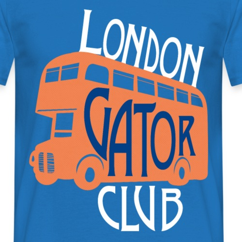 London Gator Club Bus - Men's T-Shirt