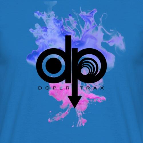 Smoke Flow Purple/Pink - Men's T-Shirt