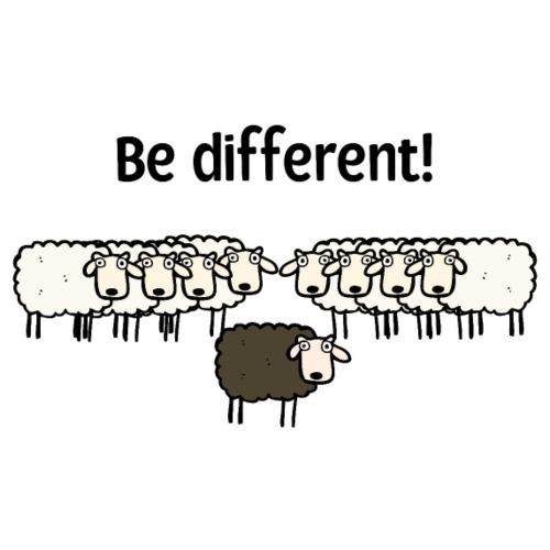Be different - Männer T-Shirt