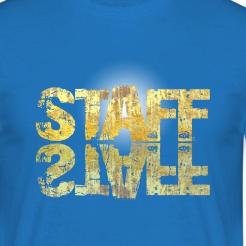 STAFF GOLDEN by Florian VIRIOT - T-shirt Homme