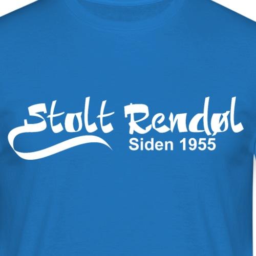 stolt rendøl 1955 - T-skjorte for menn