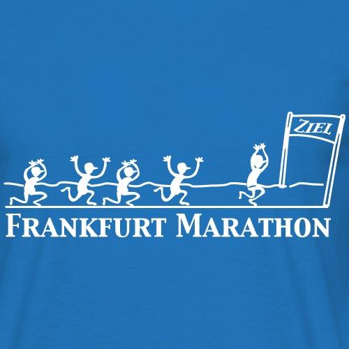 MARATHON MIT ZIEL - Frankfurt Marathon - Männer T-Shirt