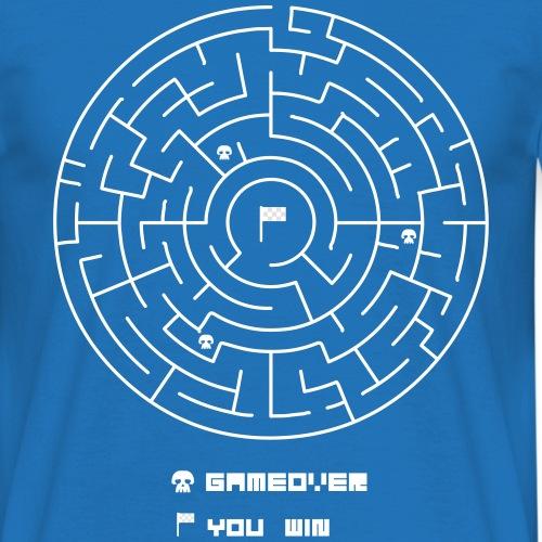 CIRCLE MAZE GAME - Men's T-Shirt