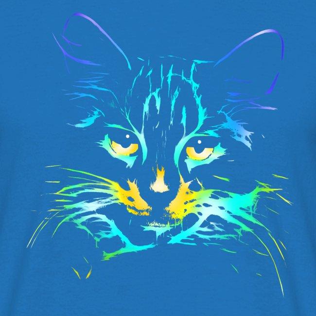 Vorschau: color kitty - Männer T-Shirt