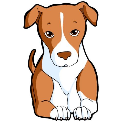 Pitbull Red Nose - Maglietta da uomo