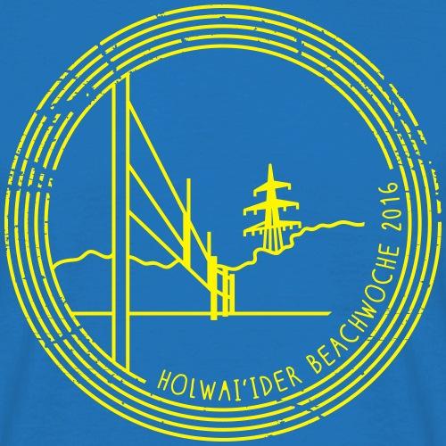 Holwai'ider Beachwoche 20 - Männer T-Shirt
