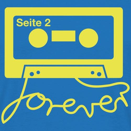 Kassettenkind – Tape forever - Männer T-Shirt