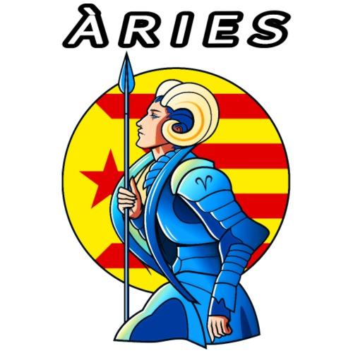 Aries estelada vermella - Camiseta hombre