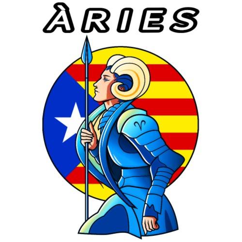 Aries estelada blava - Camiseta hombre
