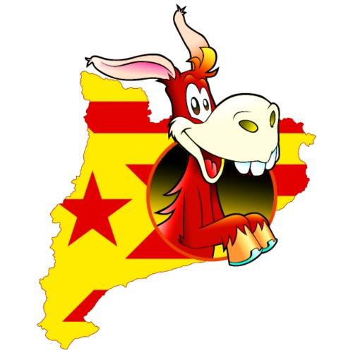 Ruc català estelada vermella - Camiseta hombre