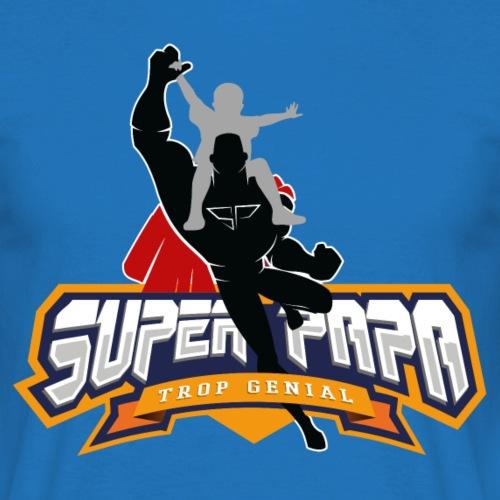 Super papa png - T-shirt Homme