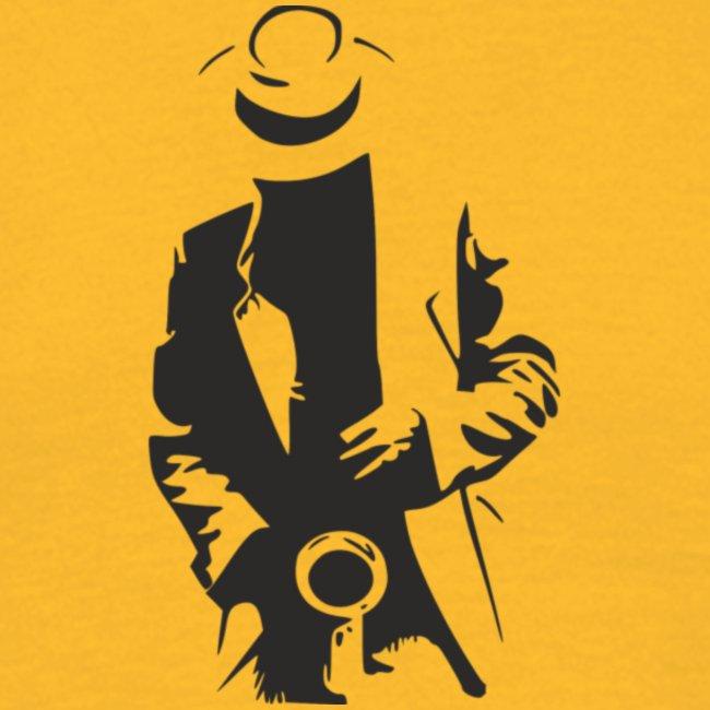 sticker le saxophoniste