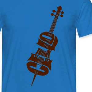 cello - T-shirt herr