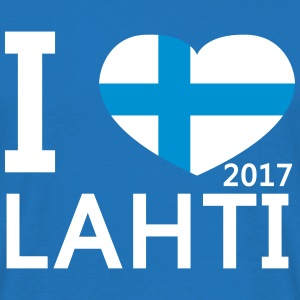 I Love Lahti World Championships - Men's T-Shirt