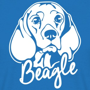 BEAGLE PORTRAIT - T-shirt Homme
