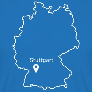 place to be: Stuttgart - Men's T-Shirt