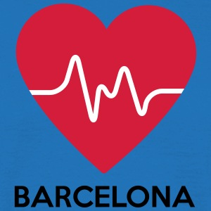 heart Barcelona - Men's T-Shirt
