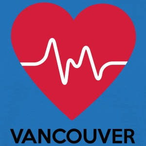 coeur Vancouver - T-shirt Homme