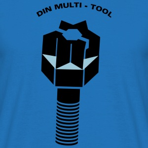 DIN MULTITOOL - Mannen T-shirt