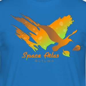 Space Atlas T-Shirt Autumn Leaves - Herre-T-shirt
