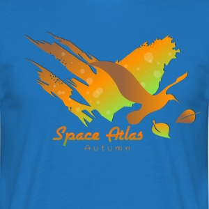 Space Atlas T-tröja Autumn Leaves - T-shirt herr