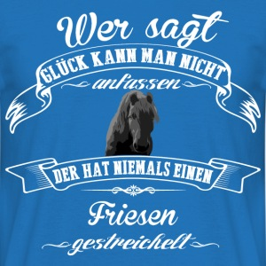 Friesen luck - T-shirt herr