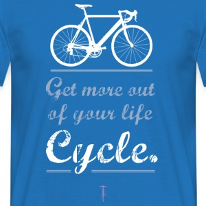 Cykel motivation Sportbike väg mountainbike BMX mer - T-shirt herr