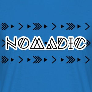 Hippie / Hippies: Nomadic - Mannen T-shirt