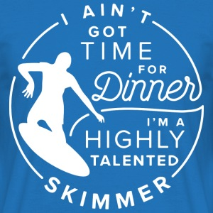 Skimboarding Shirt Highly talented Skimmer - Männer T-Shirt