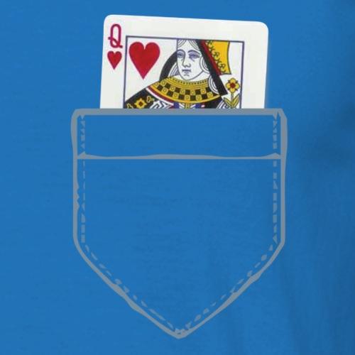Pocket Queen - Men's T-Shirt
