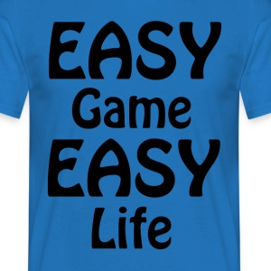 easy game easy life - Männer T-Shirt