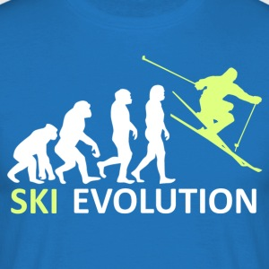 ++ ++ Ski Evolution - Men's T-Shirt