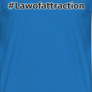 hashtag lawofattraction - Herre-T-shirt