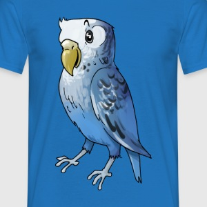 Parrot bird birds cage canary finch - Men's T-Shirt