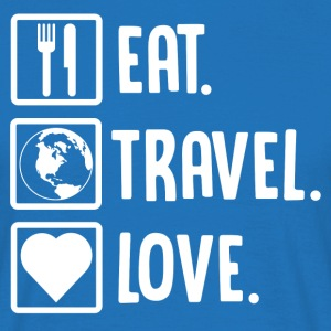 ++Eat, Travel, Love++ - Männer T-Shirt
